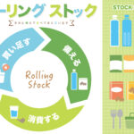 【災害に備える】ローリングストック法のススメ